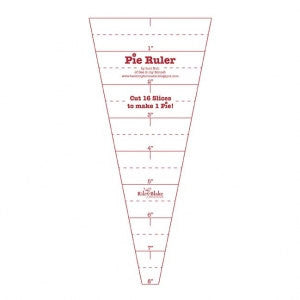 Lori Holt Pie Ruler for Riley Blake Fabrics (ST-4815)