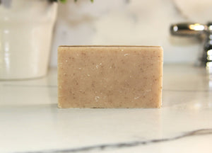 Lemon Scrub Natural Handmade Bar Soap 4oz