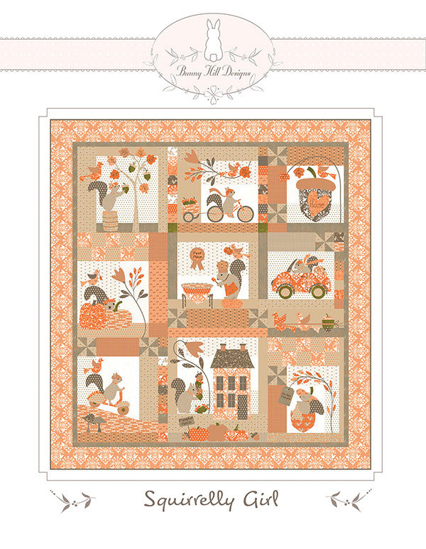 Squirrelly Girl Quilt Pattern