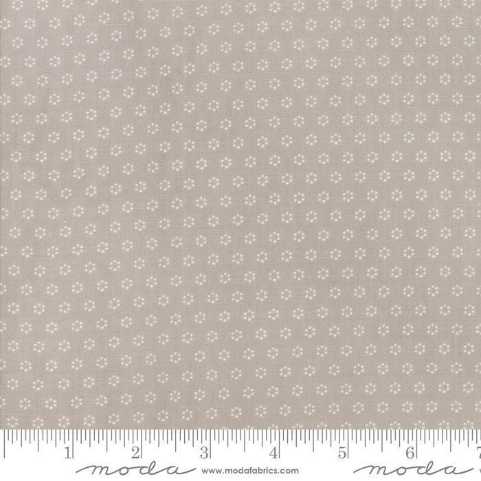 All Hallows Eve Fog Polka Dot Circles Yardage by Fig Tree  (20354 15) - Stitches n Giggles