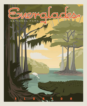 "Everglades National Park Poster Panel - 36"" x 43 1/2"" (P8934 EVERGLADES)"