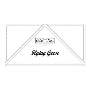 "Bloc Loc - Flying Geese Ruler  5"" x 10"""