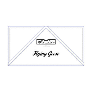 "Bloc Loc - Flying Geese Ruler  4"" x 8"""