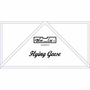 "Bloc Loc - Flying Geese Ruler  6"" x 12"""