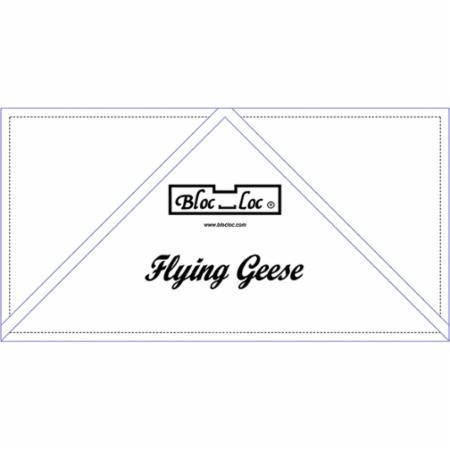 Bloc Loc - Flying Geese Ruler  6