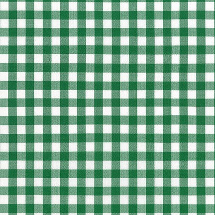 Kitchen Window Wovens Forest Small Gingham Yardage (17722 44)