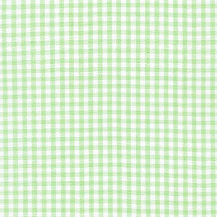 Mint Small Carolina Gingham by Robert Kaufman (P-5689-32)