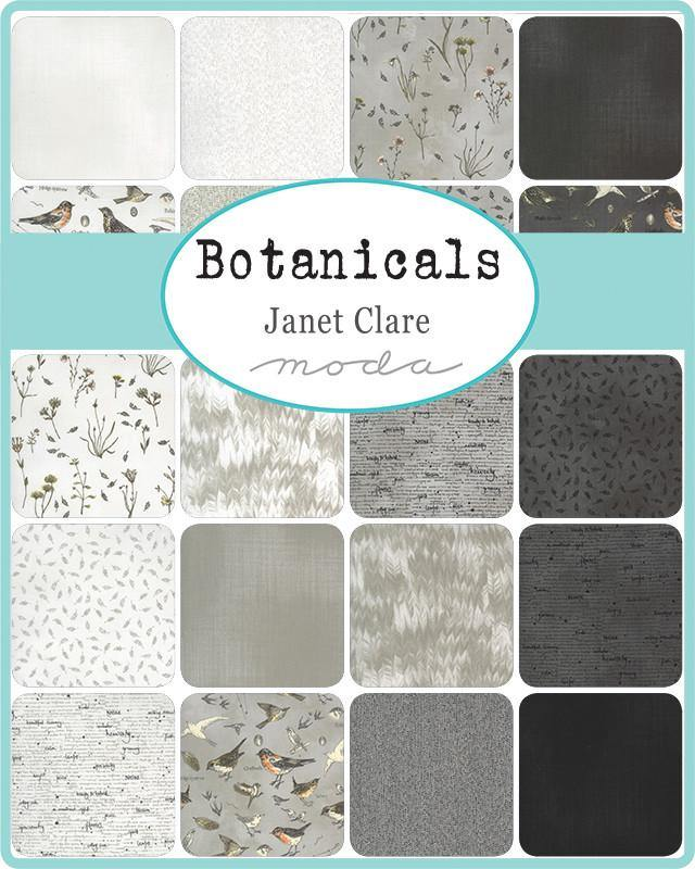 Botanicals Layer Cake by Janet Clare (16910LC) - Stitches n Giggles