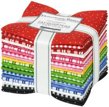 Flowerhouse Basics Sweet Fat Quarter Bundle | SKU #FQ-1738-23