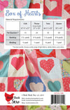 "Valentine Box of Hearts Quilt Kit - 57"" x 76"""
