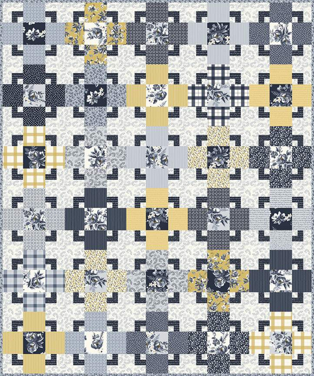 The Trixie Quilt Pattern by Hello Melly Designs