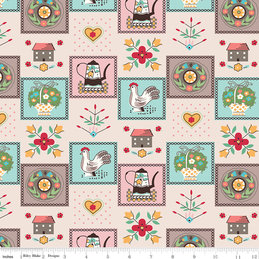 Flea Market Kitchen Yardage (C10228 KITCHEN)