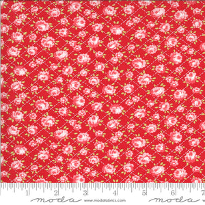 Shine On Red Roses Yardage (55214 11) Bonnie & Camille for Moda Fabrics - Cut Options Available