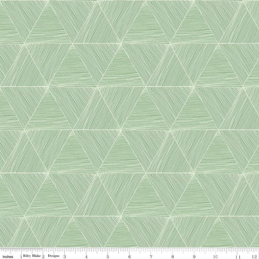 Rocky Mountain Wild Green Wild Peaks (C10294-GREEN) - Stitches n Giggles