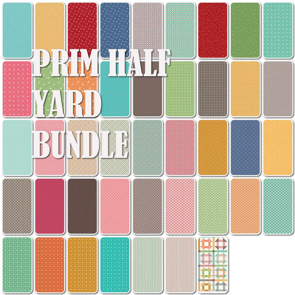 Prim Half Yard Bundle