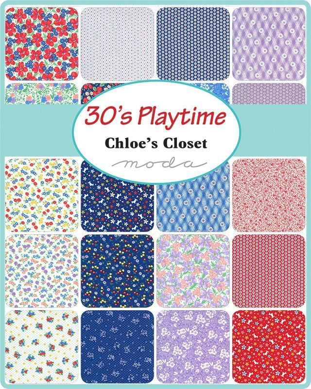 30s Playtime Layer Cake by Chloe's Closet (33590LC) - Stitches n Giggles