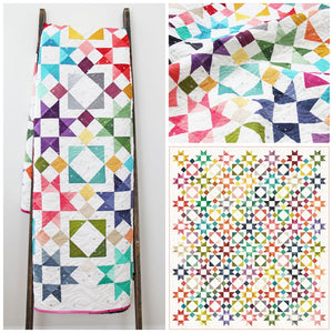 Moroccan Getaway Quilt Pattern by V & Co