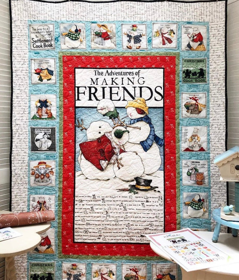 Snow Sweet Advent Quilt Kit