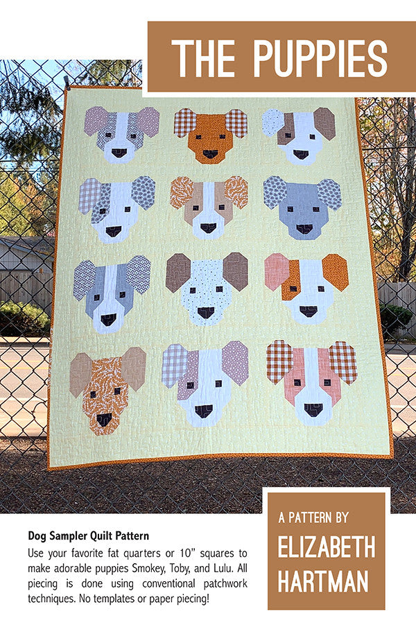 The Puppies Quilt Pattern - Precut Friendly!