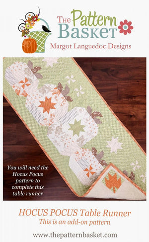 Hocus Pocus Table Runner (Add On Pattern with Hocus Pocus Quilt Pattern)