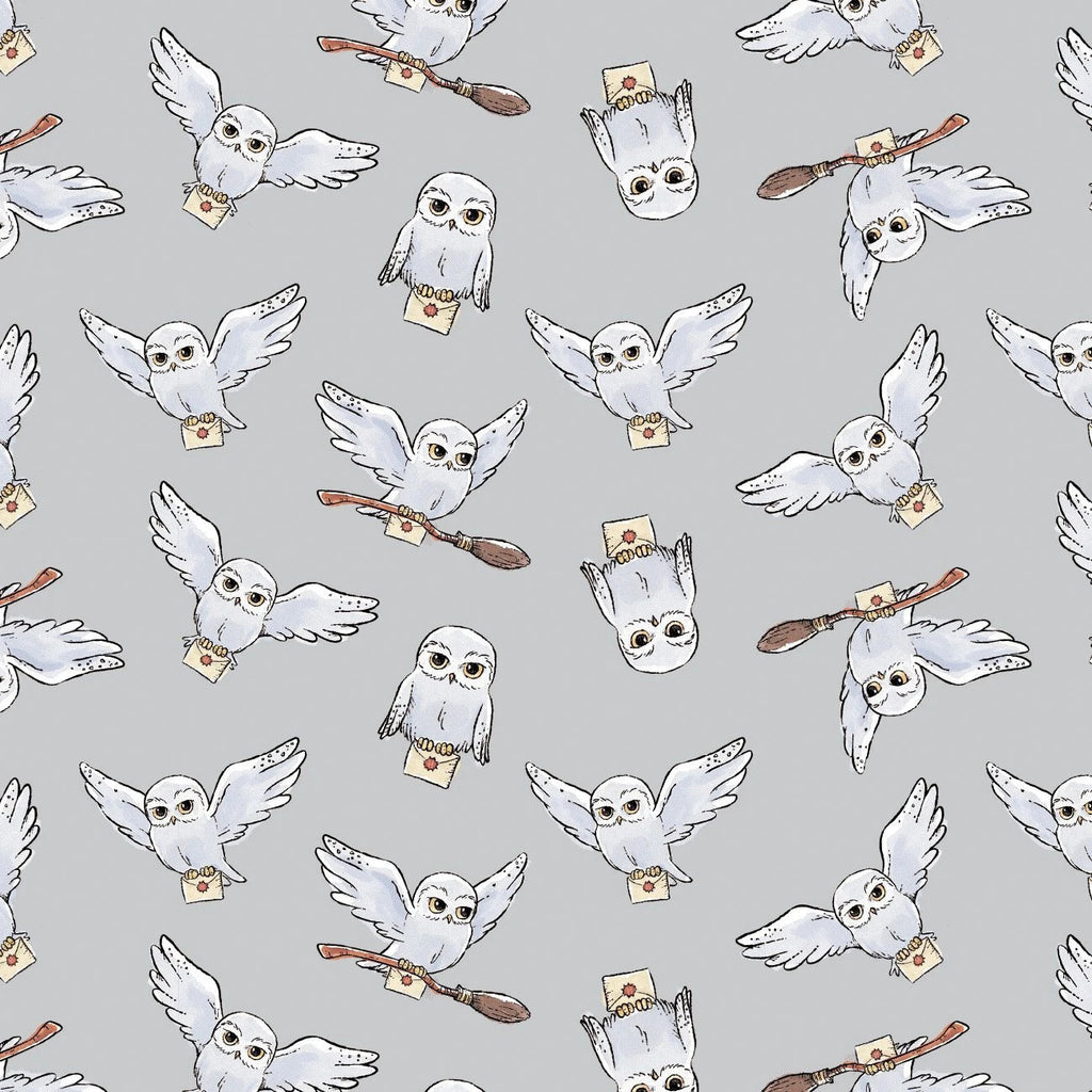 Wizarding World Harry Potter Gray Hedwig Yardage | SKU #23800605
