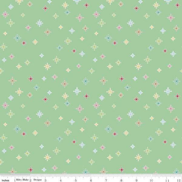 Cozy Christmas Cozy Sparkle by Lori Holt for Riley Blake Designs (C5365-Mint)