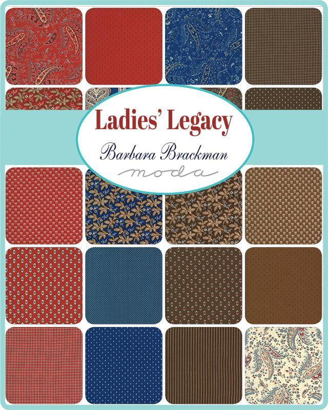 Ladies Legacy Layer Cake by Barbara Brackman | SKU #8350LC
