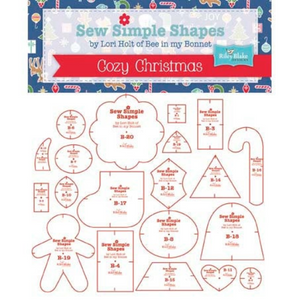 Lori Holt Sew Simple Christmas Shapes