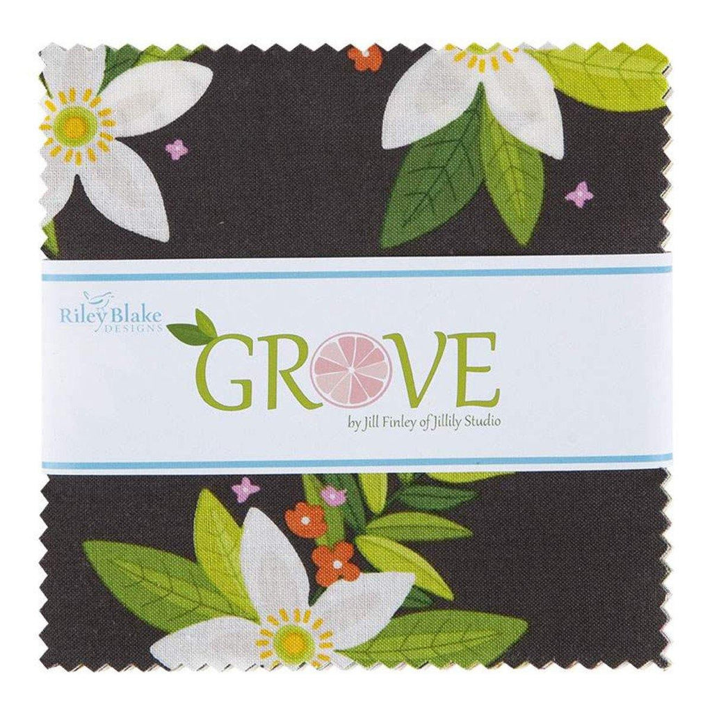 "Grove 5"" Stacker by Jill Finley (5-10140-42) - Stitches n Giggles"