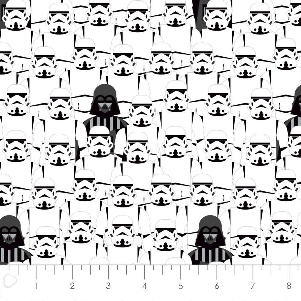 Star Wars Stacked Troopers Yardage (73011105) Star Wars Fabric
