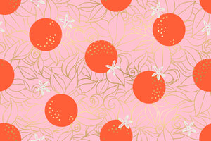 Florida Posy Orange Blossoms Yardage (RS2025 12M) Ruby Star Society - Cut Options