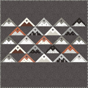 Mountainside Quilt Pattern by Lella Boutique