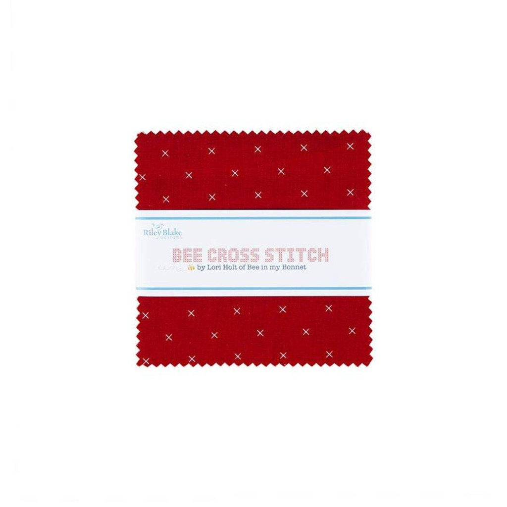 "Lori Holt's Bee Cross Stitch 5"" Stacker 