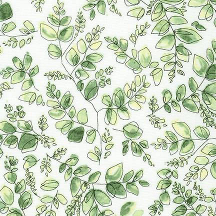 Nature's Notebook Leaf Yardage | SKU #19849-43