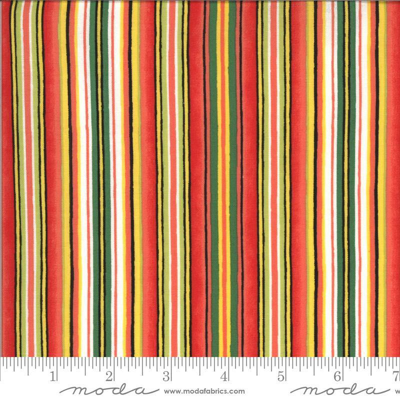 Homegrown Salsa Multi Red Stripe (19972 13) - Stitches n Giggles