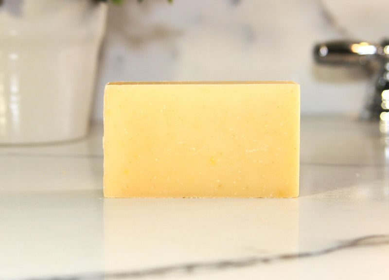 Lemongrass Lime Natural Handmade Bar Soap 4oz