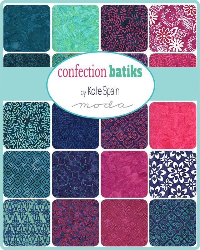 Confection Batiks Layer Cake by Kate Spain (27310LC)