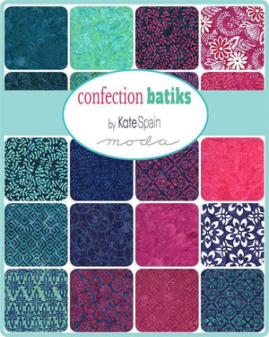 Confection Batiks Layer Cake by Kate Spain (27310LC) - Stitches n Giggles