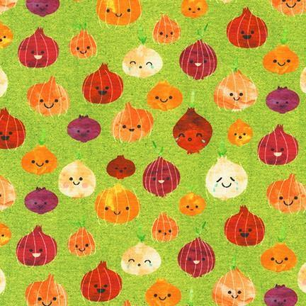Chili Smiles Avocado Onions Yardage | SKU #20004-218 - Stitches n Giggles