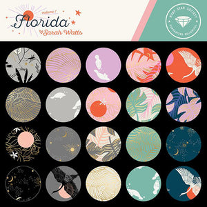 Florida Shell Wild Wings Yardage (RS2026 11M) Ruby Star Society - Cut Options