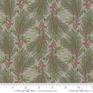 Naughty or Nice Stone Pine Bough Yardage (30631 15)