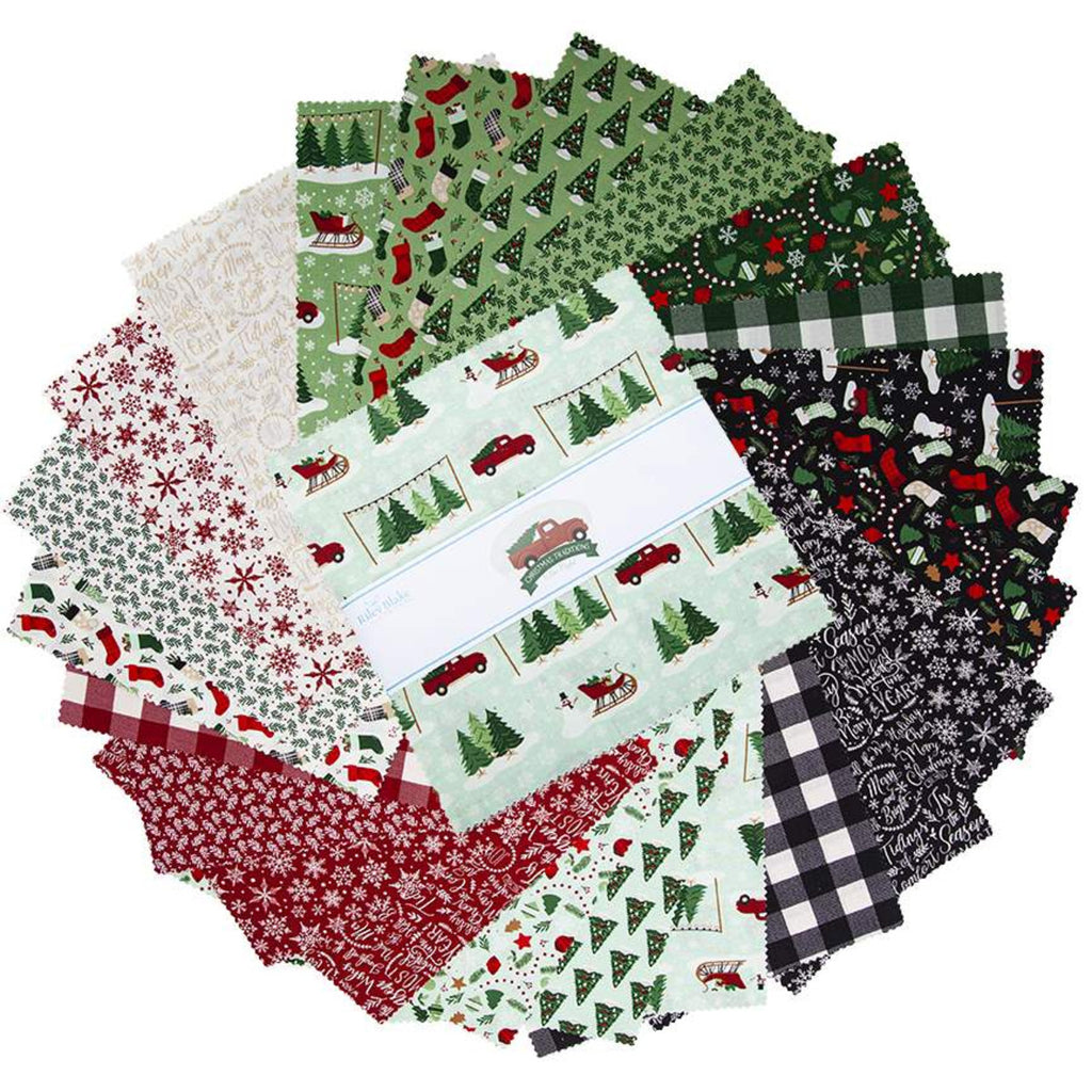 "Christmas Traditions 10"" Stacker  - 42 Pieces"