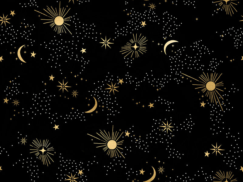 Florida Black Cosmos Yardage (RS2028 15M) Ruby Star Society - Cut Options