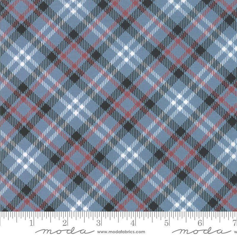 Branded Blue Jean Plaid Yardage (5786 16)