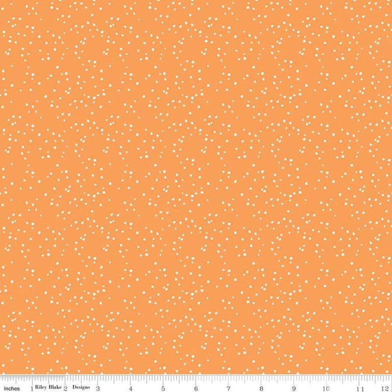 Play Outside Orange Dots by Gracey Larson (C9067 ORANGE)