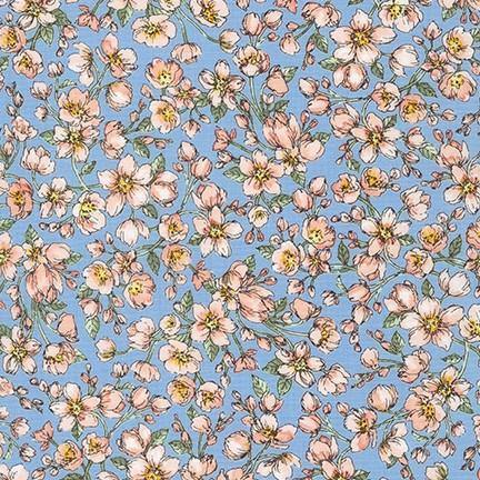 Nature's Notebook Peach Blossoms Yardage | SKU #19848-144 - Stitches n Giggles