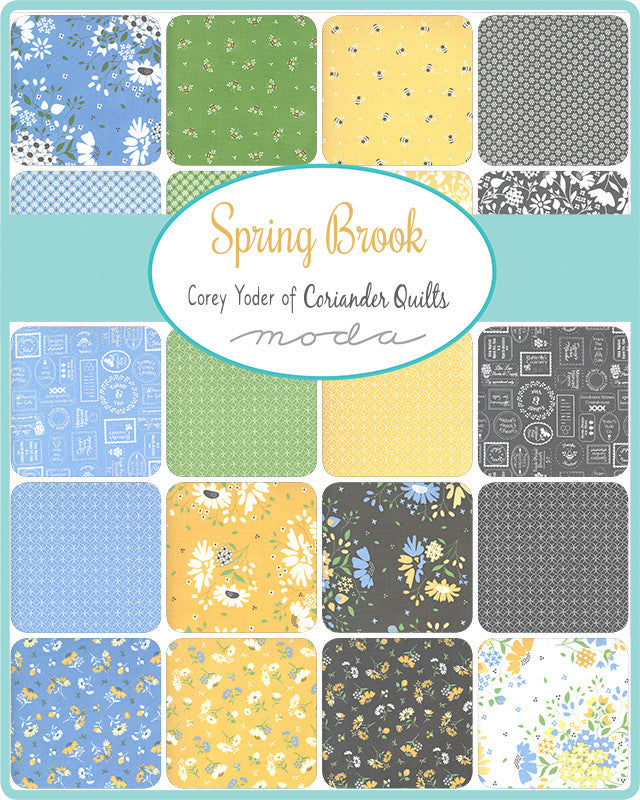 Spring Brook Fat Quarter Bundle by Corey Yoder - 34 SKUs