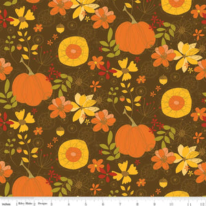 Give Thanks Main Brown Yardage (C9520 BROWN)