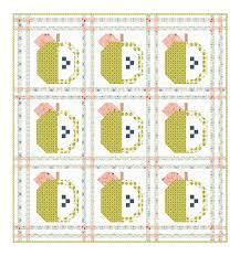 Apple Orchard Quilt Kit using Smol Fabric