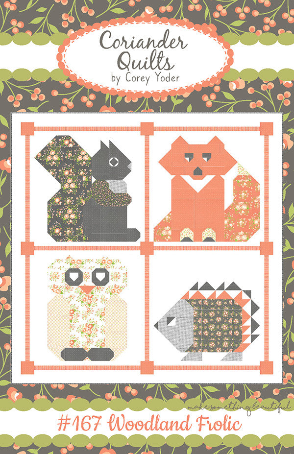 Woodland Frolic Quilt Pattern